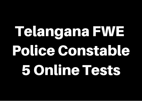 Telangana FWE Constable Telugu Online Tests