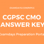 cgpsc cmo answer key