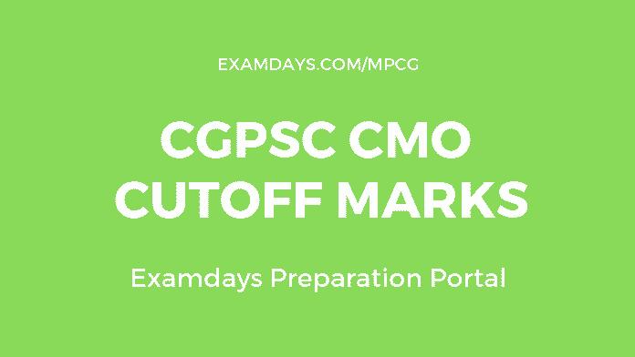 cgpsc cmo cutoff marks'