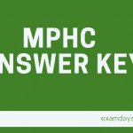 mphc answer key