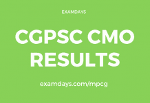 cgpsc cmo result