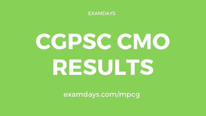cgpsc cmo result