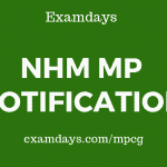 mp nhm notification
