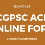 cgpsc acf notification