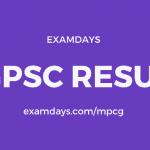 cgpsc prelims result