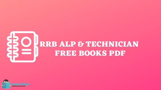 rrb alp and technician books team examdays