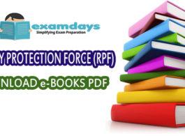 RPF SI Constable books Download PDF