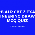 RRB ALP CBT 2 Engineering Drawing MCQ Quiz
