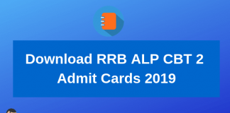 Download RRB ALP CBT 2 Admit Cards 2019-min