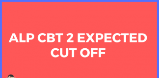 rrb alp cbt 2 cut off 2019