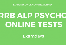 rrb alp psycho test