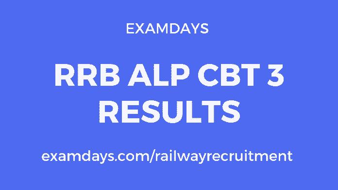 rrb alp cbt 3 result