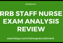 rrb staff nurse paper