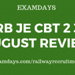 rrb je cbt 2 30 august review