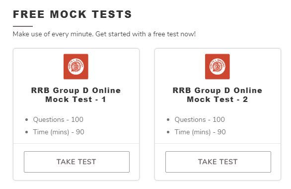 group d free tests