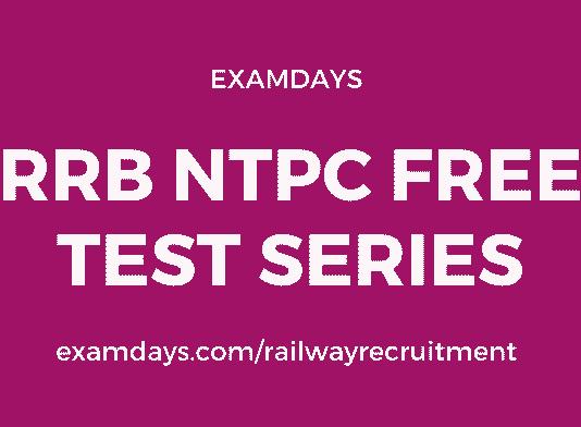 rrb ntpc free tests