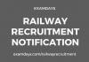 railway recruitment