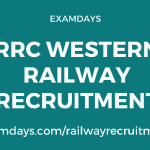 rrc western railway recruitment