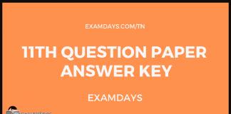 tn 11 paper answer key