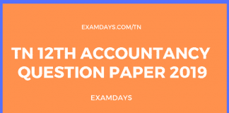 tn 12 accountancy paper answer key
