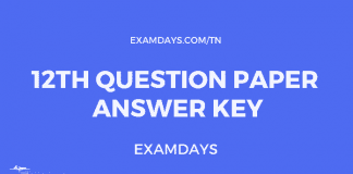tn 12 paper answer key