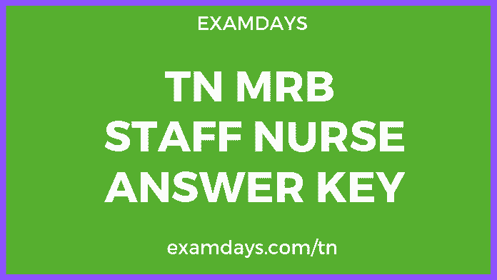 mrb tn staff nurse exam answer key