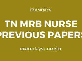 tn mrb nurse previous papers