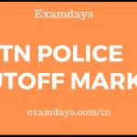 tn police cutoff marks