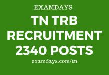 tn trb recruitment
