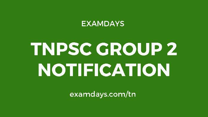 tnpsc group 2 notification