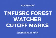 TNFUSRC Forest Watcher Cutoff Marks
