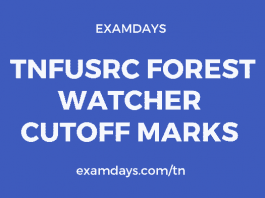 TNFUSRC Forest Watcher Cutoff Marks