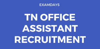tn office assistant recruitment