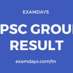 tnpsc group 2 result