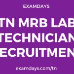 tn mrb lab technician recruitment