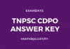 tnpsc cdpo answer key