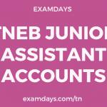 tneb junior assistant accounts recruitment