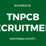 tnpcb recruitment 2020 apply online