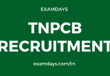 tnpcb recruitment 2020 apply online