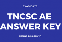 tncsc ae answer key