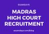 madras high court notification