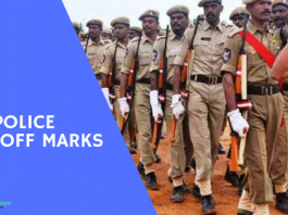AP Police Cut off marks