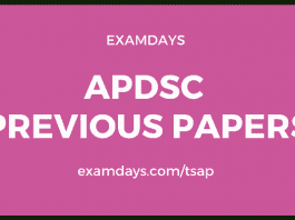 ap dsc previous papers
