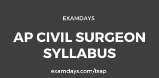 ap civil assistant surgeon syllabus