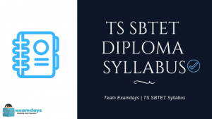 TS SBTET C-18 II Semester Syllabus Download Part-1 Subject Wise Syllabus