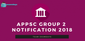 APPSC Group 2 Notification 2018 Out Syllabus
