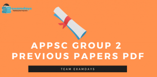 APPSC Group 2 Previous Papers
