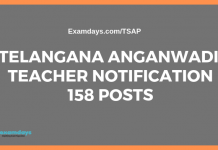 telangana anganwadi teacher notification