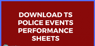 ts police events performance sheets