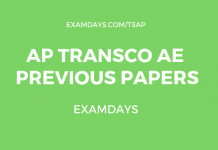 ap transco previous papers